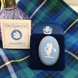 Wedgwood Cameo Pin Brooch